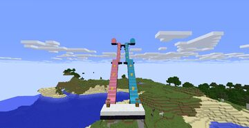 Lucky Block Staircase Race Minecraft Map & Project