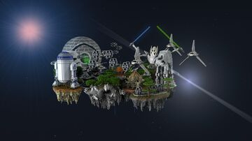 Star Wars Skypvp Minecraft Map & Project