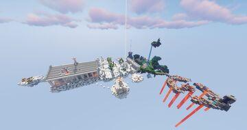 [Map PvP - 1.16+] Le Pouvoir des dieux - La Colère de Notch Minecraft Map & Project