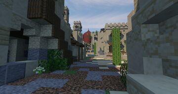 Desert City of Al Hibar Minecraft Map & Project
