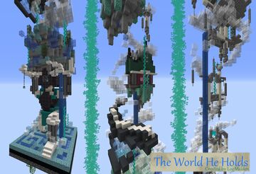 The World He Holds | One Chunk Challenge Project Contest Minecraft Map & Project