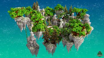 🎄 Xmas 🎄 Winter SkyBlock - AliensBuilds 🎄 Minecraft Map & Project