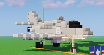 [1.5:1 3-Pack] Douglas A-4 Skyhawks Minecraft Map & Project