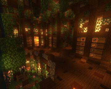 Rustic cave base Minecraft Map & Project