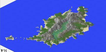 Test Landscape practice 2kx2k (Version 1.2-1.12.2) Minecraft Map & Project
