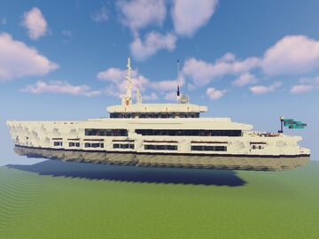 Superyacht Courage Minecraft Map & Project