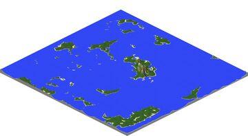 Deep Islands #1 Minecraft Map & Project