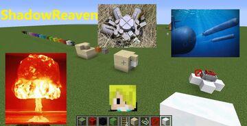 TNT Minecart LANDMINES & TORPEDOS Minecraft 1.16.2 Minecraft Map & Project