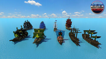 Kingdom of Galekin Ships Minecraft Map & Project