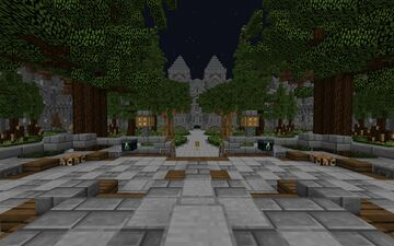 Spawn Faction (200x200) + WarZone (600x600) Minecraft Map & Project