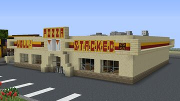 Well Stacked Pizzeria Minecraft Map & Project