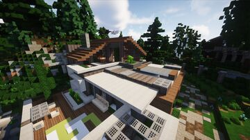 |ECO| MODERN MINI-HOUSE | MFC | Minecraft Map & Project