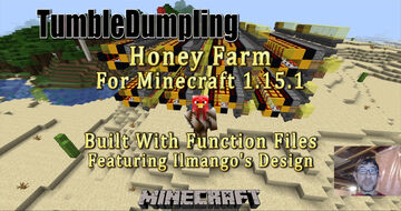 Honey Farm for Minecraft 1.15.1 (Uses Function Files) Minecraft Map & Project