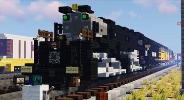 Union Pacific Big Boy No. 4014 Excursion Minecraft Map & Project