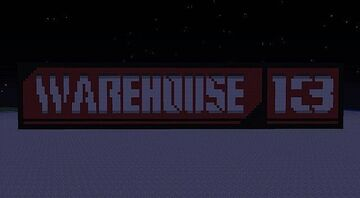 Warehouse 12 (Not 100% accurate) - from the Warehouse 13 TV show Minecraft Map & Project