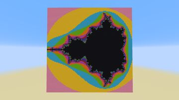 Mandelbrot Set Generator Minecraft Map & Project