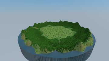 Big grassy fight arena Minecraft Map & Project