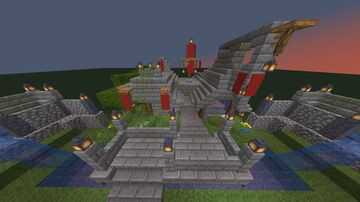 Red Imperial storage building Minecraft Map & Project