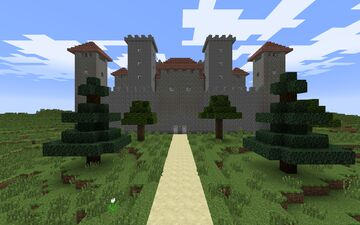 Castle & Stronghold Minecraft Map & Project