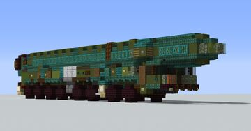 RT-2PM2 Topol-M (also known as SS-27 Sickle B) Minecraft Map & Project