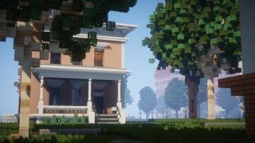 Beautiful Italianate Minecraft Map & Project