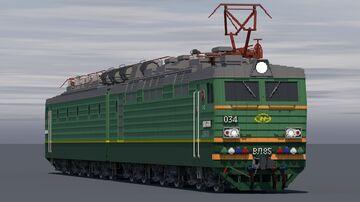 Russian electric locomotive VL85 Minecraft Map & Project
