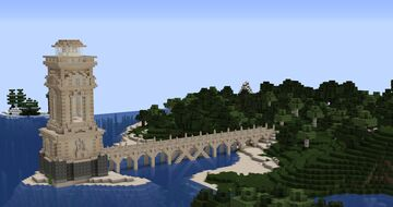 Lighthouse for Tower Build - Inspired by Kenofox Minecraft Map & Project