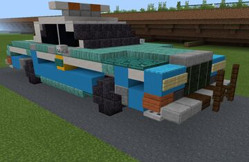 4:1 Dodge Diplomat police car (NYPD) Minecraft Map & Project