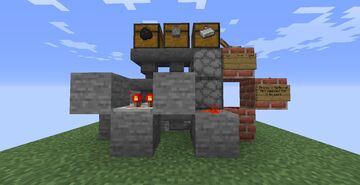 Automatic Furnace (1.16.4) +Survival Friendly+ Minecraft Map & Project