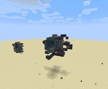 3x3x3 piston door (not 3x3) Minecraft Map & Project
