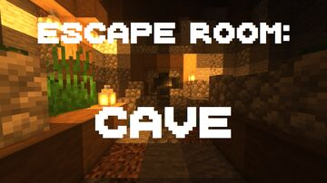 Escape Room: Cave Minecraft Map & Project