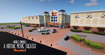 Noble Cinemas - A Virtual Movie Theater Minecraft Map & Project