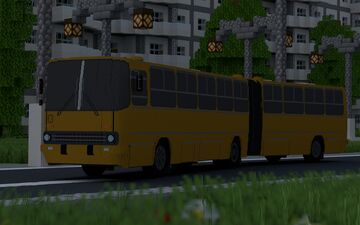 LAZ-695N and some remake of Ikaruses (260 and 280) Minecraft Map & Project