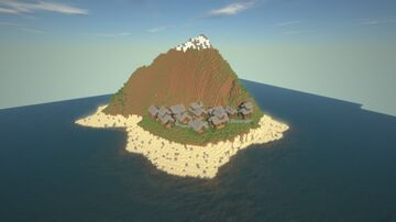 Small Village On Custom Map Minecraft Map & Project