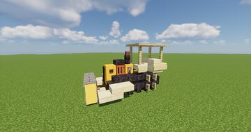 Small Bulldozer Minecraft Map & Project
