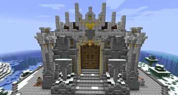 Server Staff Building - The Senate of FTC Minecraft Map & Project