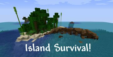 Tropical Island Survival [1.16] Minecraft Map & Project