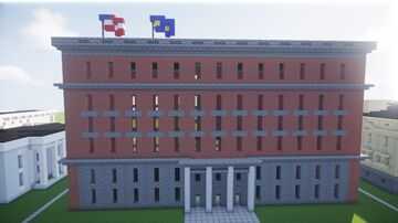 Alaska State Capitol Building Minecraft Map & Project