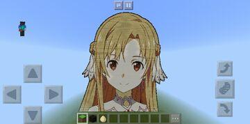 ASUNA | Sword Art Online (Alicization) Minecraft Map & Project