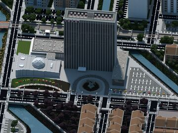 United Cities Headquarters | Mineopolis and the Countryside Minecraft Map & Project