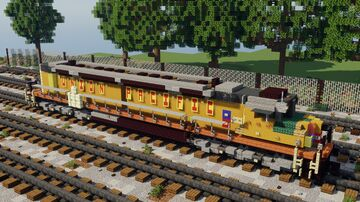 EMD DDA40X | Union Pacific Minecraft Map & Project