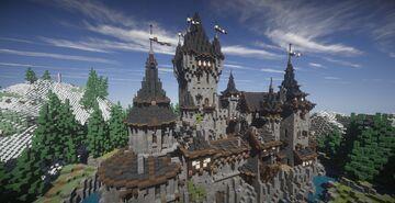 Castle de Poindestre | German Castle Minecraft Map & Project