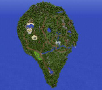 Mini Jurassic Park Minecraft Map & Project