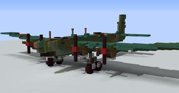 Tupolev TB-3 (WW2 Soviet Bomber) Minecraft Map & Project