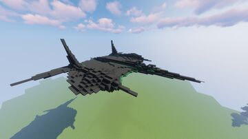 Government Military Plane [DOWNLOAD] Minecraft Map & Project
