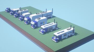 Trooper's Pack of Police Vehicles [With Download] Minecraft Map & Project