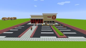 Target Store Minecraft Map & Project