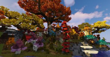 Autumn forest Minecraft Map & Project