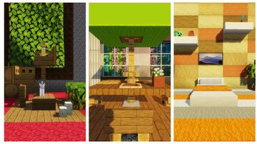 Minecraft 25 interior decorating ideas and designs! 2 Minecraft Map & Project
