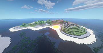 Barren Island [1.16.2 Survival Map] Minecraft Map & Project